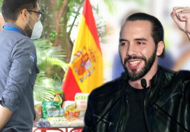 Embajada de España dona kit de alimentos para las familias salvadoreñas más necesitadas