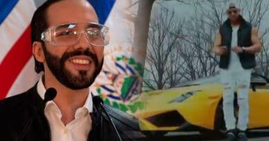 Reconocido musico dominicano le canta al Presidente Nayib Bukele
