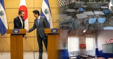 Japón dona $214 mil al Gobierno de Bukele para la restauración y remodelación de centros educativos