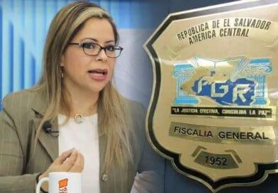 Tahnya Pastor sigue siendo la favorita de los salvadoreños para sustituir a Raúl Melara como Fiscal General